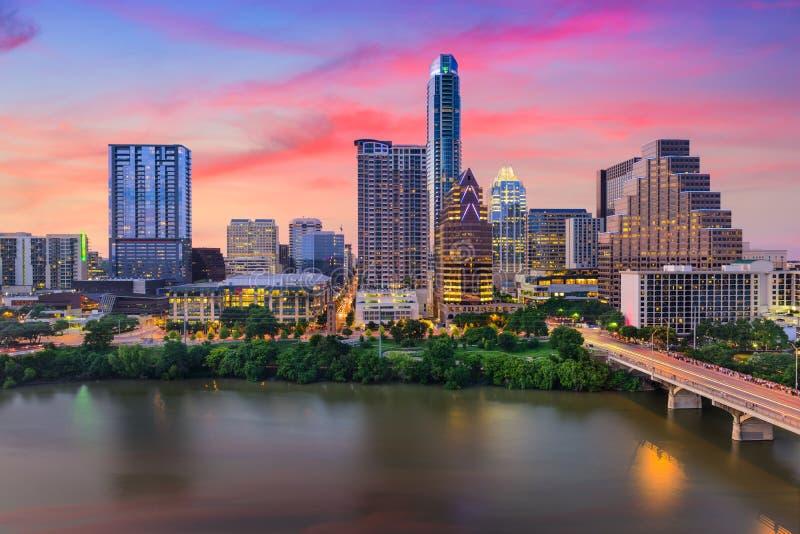 Skyline Austin-, Texas stockfotografie