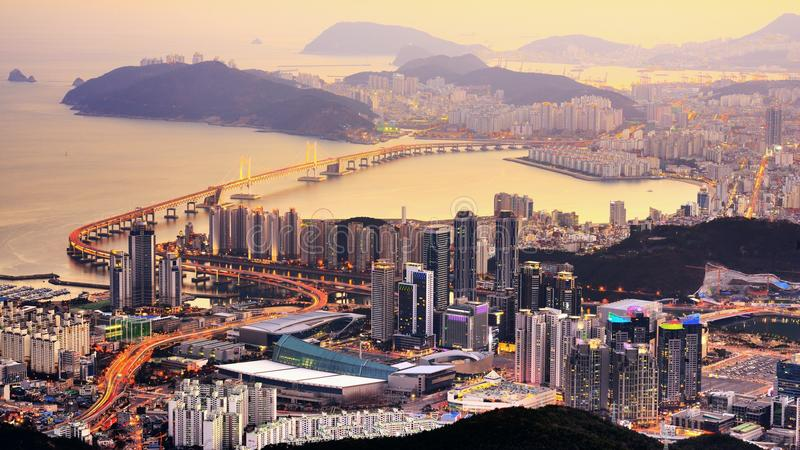Busan, South Korea stock photos