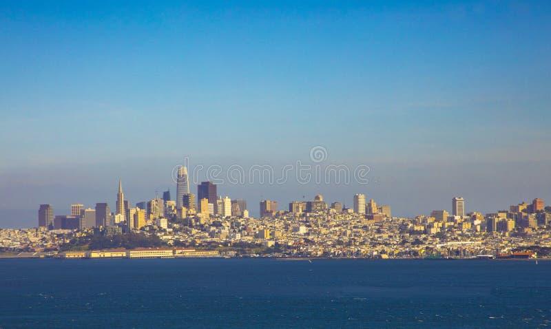 Skyline c?nico de San Francisco fotos de stock royalty free