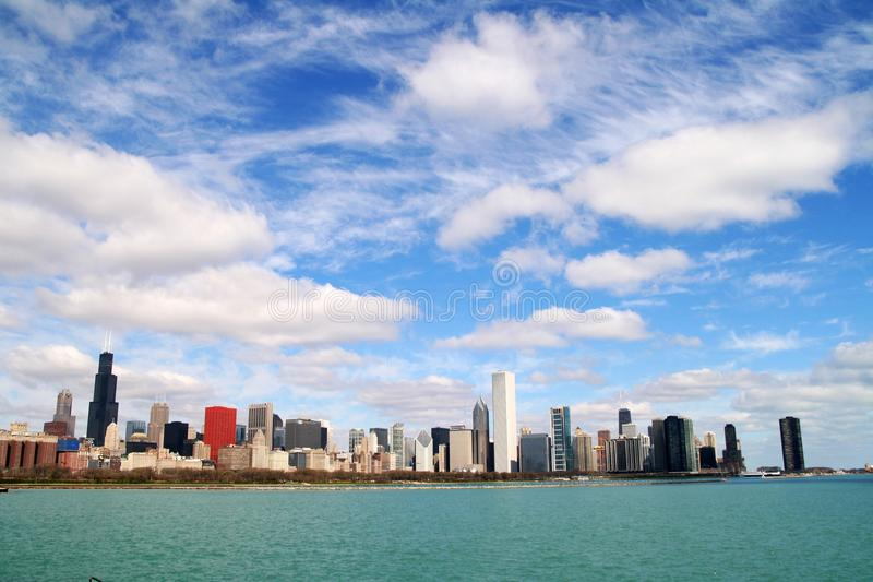 Download Skyline of Chicago stock image. Image of lake, chicago - 13876563