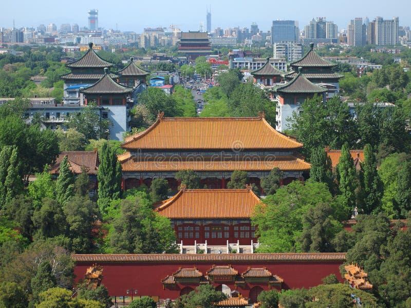 Skyline China-Peking lizenzfreie stockfotos
