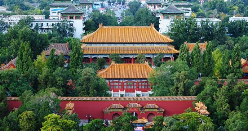 Skyline China-Peking lizenzfreies stockfoto