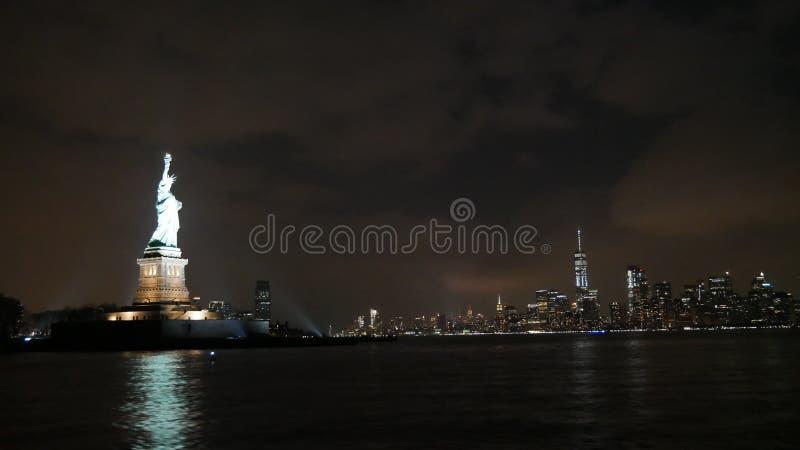 Skyline, Cityscape, Night, City stock images