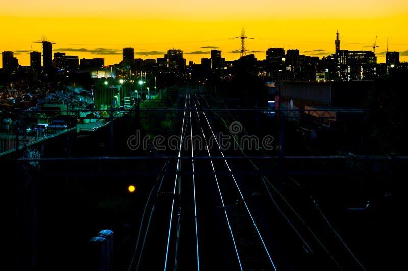 Skyline da cidade de Birmingham imagem de stock royalty free