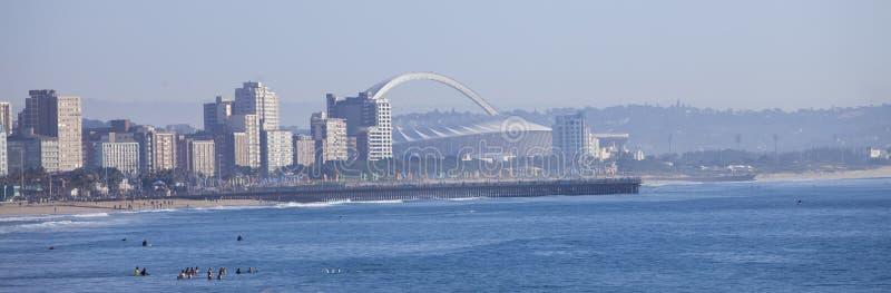 Skyline da cidade de Durban imagens de stock royalty free