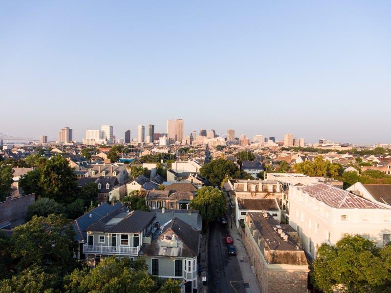Skyline da cidade de Nova Orleães imagens de stock royalty free