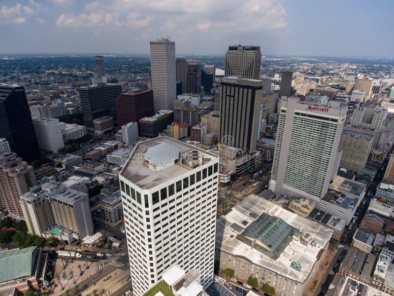 Skyline da cidade de Nova Orleães foto de stock