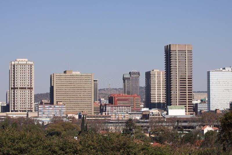 Skyline da cidade de Pretoria imagem de stock royalty free