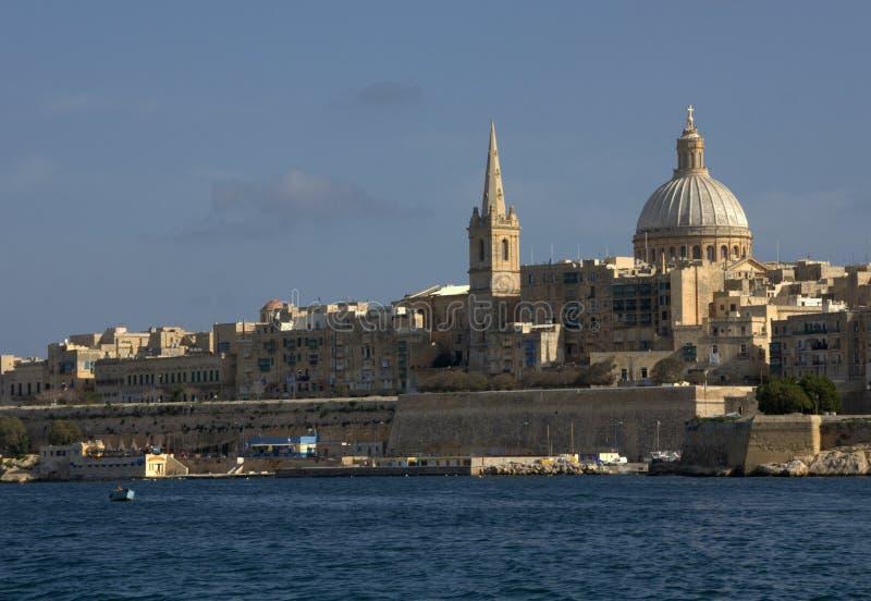 Download Skyline Da Cidade De Valletta Imagem de Stock - Imagem de cidade, mediterranean: 16873671