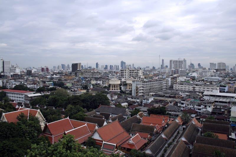 Skyline de Banguecoque fotos de stock royalty free