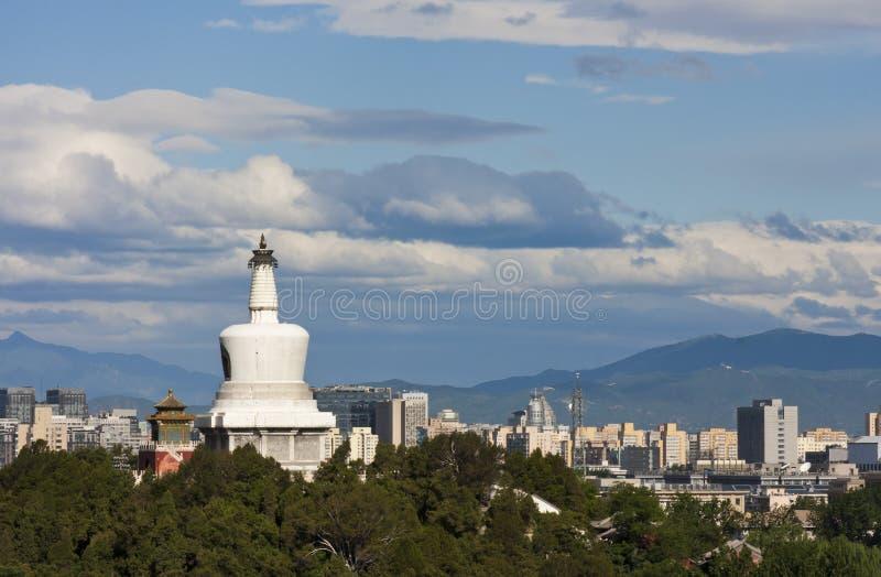 Skyline de Beijing imagem de stock royalty free