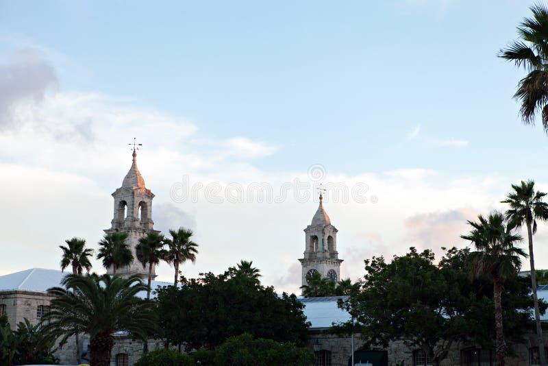 Skyline de Bermuda fotografia de stock royalty free