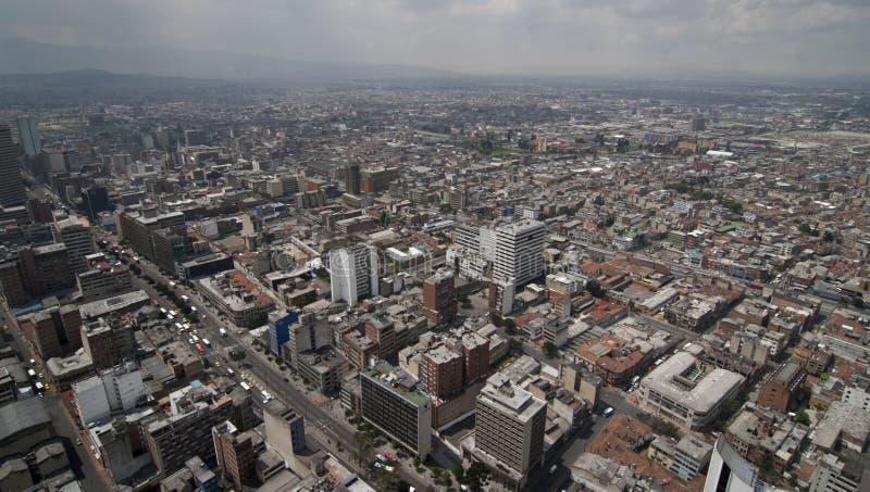 Skyline de Bogotá imagem de stock
