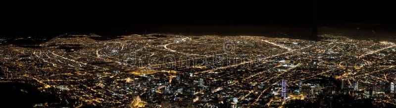 Skyline de Bogotá, Colômbia fotografia de stock