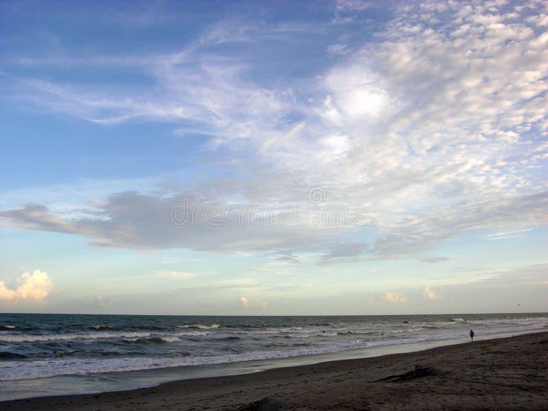 Skyline de Cape Canaveral fotografia de stock royalty free