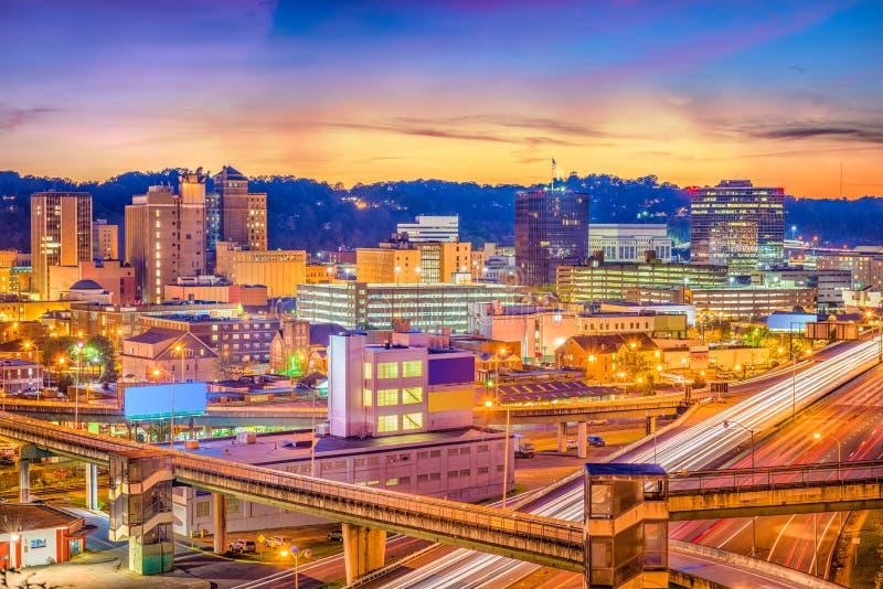 Skyline de Charleston, West Virginia, EUA imagem de stock royalty free