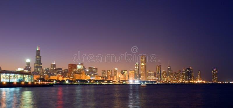 A skyline de Chicago fotografia de stock royalty free
