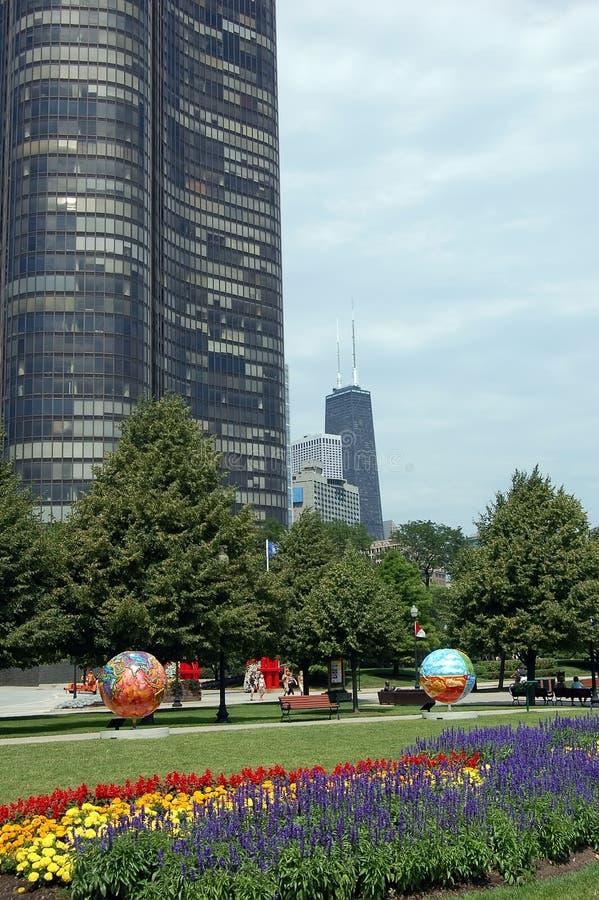 Skyline de Chicago imagem de stock royalty free