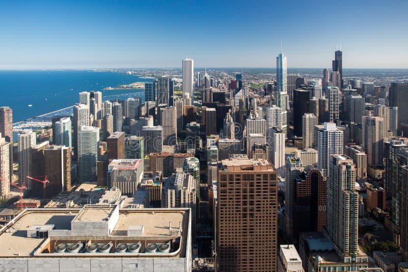 Skyline de Chicago foto de stock royalty free