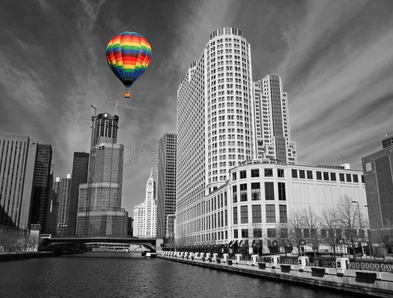 A Skyline De Chicago Fotografia De Stock Grátis