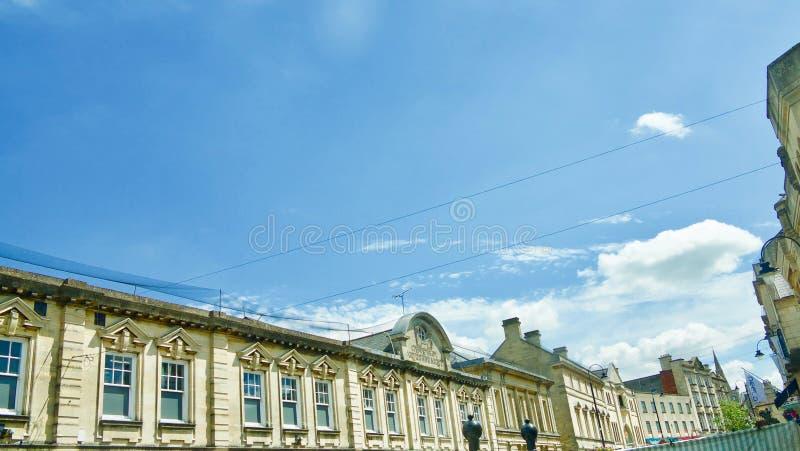 Skyline de Chippenham foto de stock royalty free