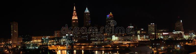 Skyline de Cleveland Ohio imagem de stock royalty free