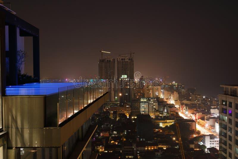 A skyline de Colombo imagem de stock