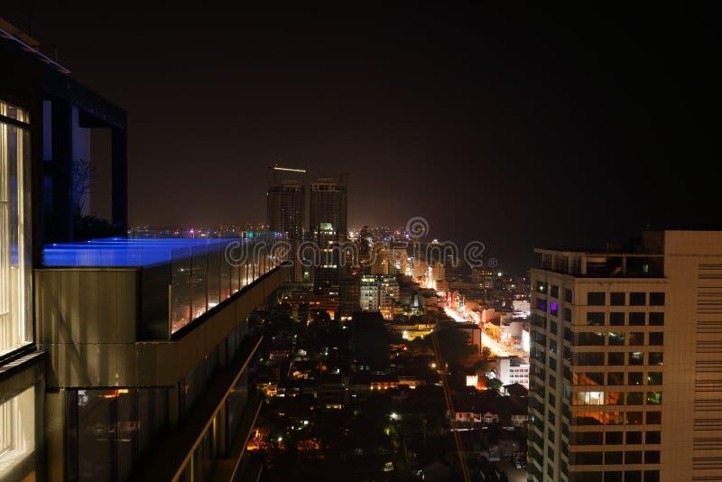A skyline de Colombo fotos de stock royalty free