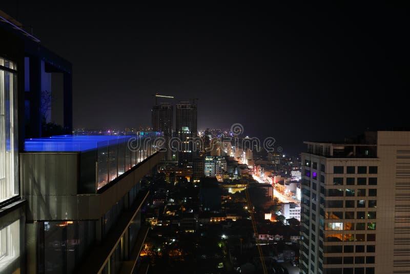 A skyline de Colombo fotografia de stock royalty free