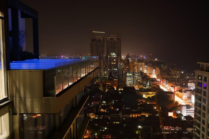 A skyline de Colombo foto de stock royalty free