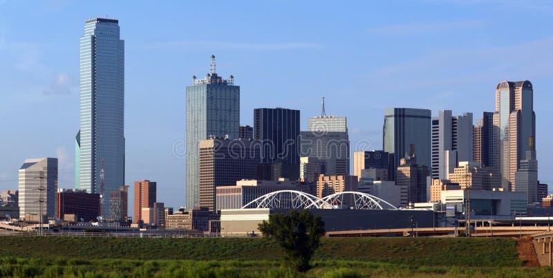 Skyline de Dallas Texas fotos de stock royalty free