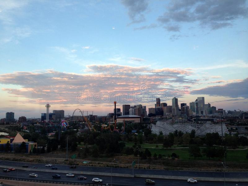 Skyline de Denver immagine stock