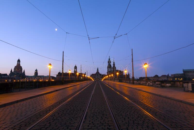 Skyline de Dresden imagens de stock royalty free