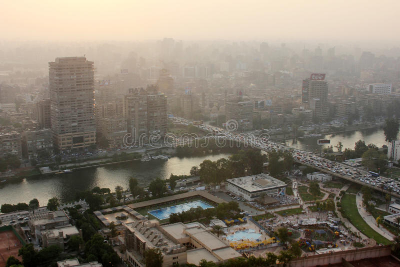 Skyline de Egito o Cairo