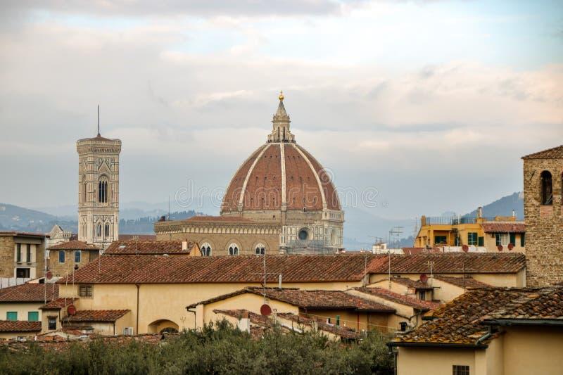 Skyline de Florença fotos de stock royalty free