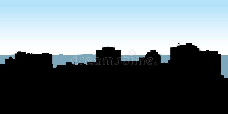 Skyline de Halifax ilustração do vetor