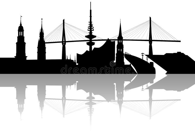 Skyline de Hamburgo