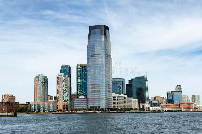 Skyline de Hoboken foto de stock royalty free