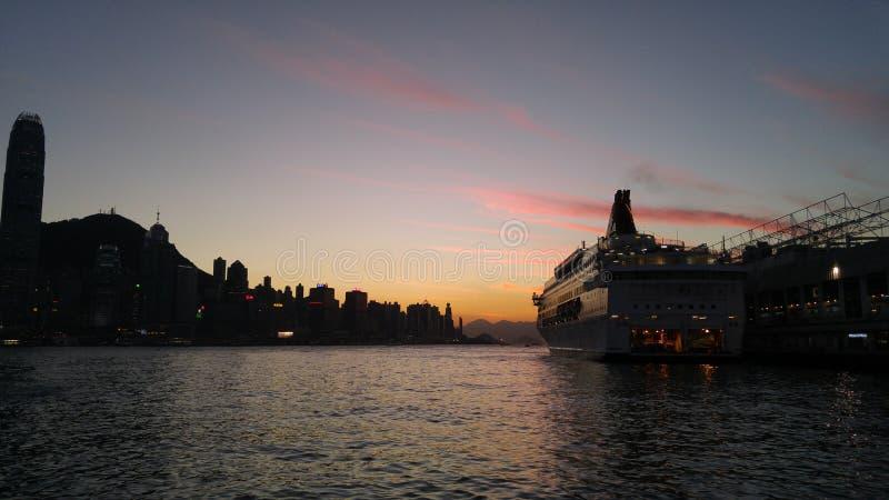 Skyline de Hong Kong imagem de stock royalty free