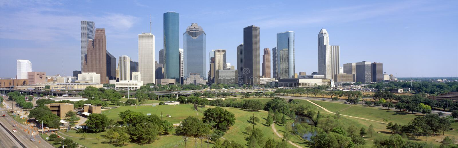 Skyline de Houston fotos de stock royalty free