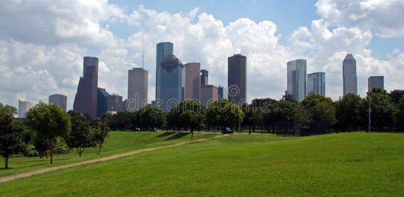 Skyline de Houston Texas foto de stock royalty free