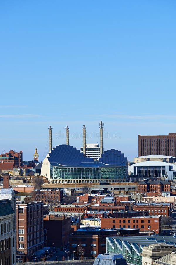 Skyline de Kansas City foto de stock royalty free