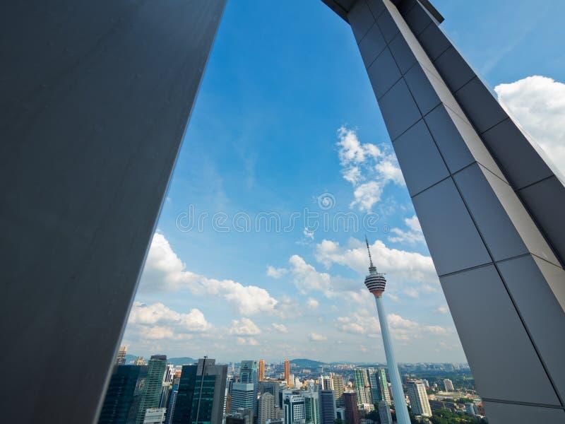Skyline de Kuala Lumpur fotos de stock royalty free