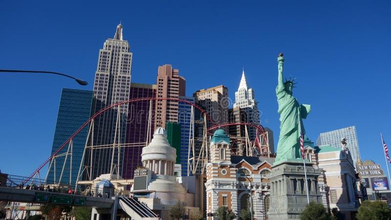 Skyline de Las Vegas foto de stock royalty free