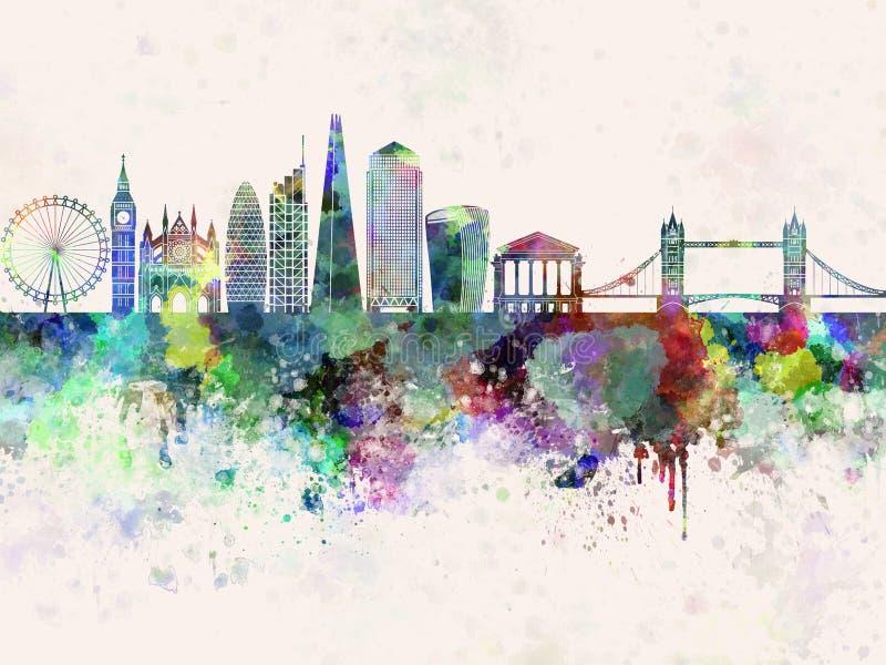 Skyline de Londres V2 na WB