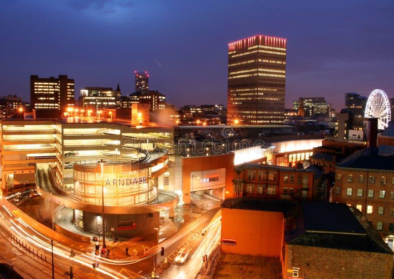 Skyline de Manchester foto de stock royalty free