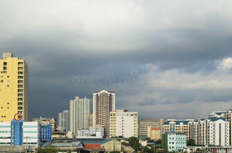 Skyline de Manila fotografia de stock royalty free