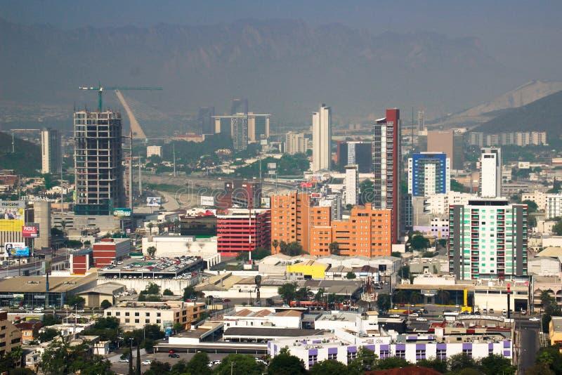 Skyline de Monterrey imagens de stock royalty free