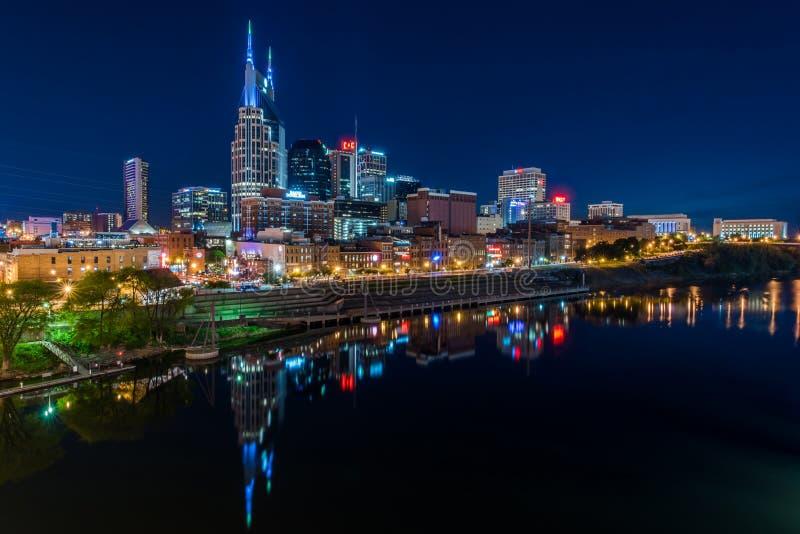 Skyline de Nashville foto de stock
