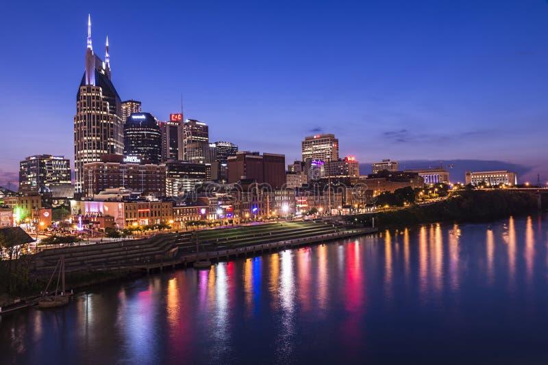Skyline de Nashville fotografia de stock royalty free